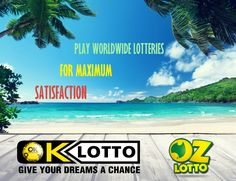 OK-Lotto offers you the possibility to play your favorite lotteries and win huge prizes. Use this opportunity wisely, you could become a multi-millionaire in a blink of an eye! It takes just a minute to buy an online lottery ticket. This is a much more convenient way than standing in lines, especially when you can get your first ticket for FREE at ok-lotto.com.