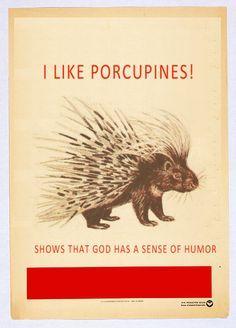 walter bishop quote porcupine