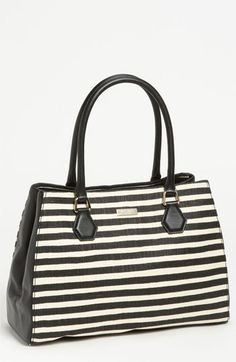 kate spade new york 'catherine street - stripe louise' shoulder bag available at #Nordstrom