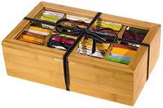 Plenty 4 You Tea Chest Gift Set 80 Tea Bags 20 Honey Sticks - Cool Kitchen Gifts Tea Gift Sets, Tea Gifts, Honey Sticks, Kitchen Gifts, Cool Kitchens, Feel Better, Gourmet Recipes, Bamboo, Organic