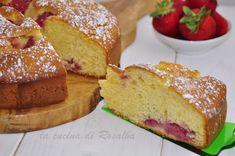 torta 7 vasetti alle fragole | ricetta la cucina di rosalba