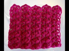 """This will be the first installment of """"Stitch Of The Week"""". Every week we will be posting a Fun, New Beautiful stitch for everyone to learn! Crochet Afghans, Crochet Stitches Patterns, Crochet Chart, Crochet Scarves, Stitch Patterns, Knit Crochet, Knitting Videos, Crochet Videos, Elephant Blanket"""