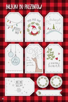 darmowe bileciki do prezentów do druku Christmas Time, Christmas Cards, Merry Christmas, Xmas, Diy Paper, Paper Crafts, Quilling, Diy Gifts, Advent Calendar