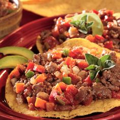 Picadillo for Tacos is a versatile mixture that combines ground beef, tomatoes, jalapeños and spices...