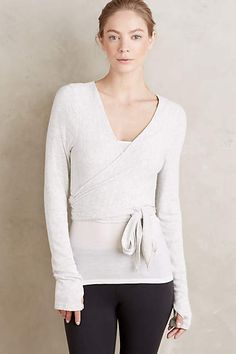 Wrapped Ballet Cardigan - anthropologie.com