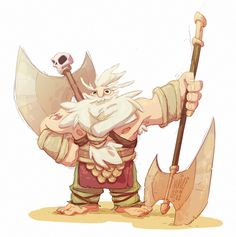 This is Arnulf.  He likes axes.