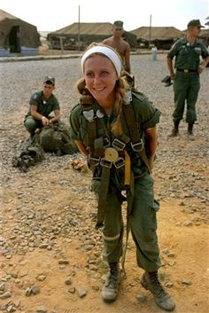 French Photographer Catherine Leroy who Covered Vietnam.