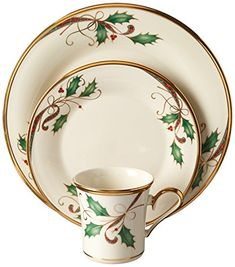 Lenox 12 Piece Holiday Nouveau Gold Dinnerware Set ** More info could be found at the image url. (This is an affiliate link and I receive a commission for the sales) Christmas Dinnerware Sets, Lenox Christmas, Christmas Tabletop, Christmas China, Christmas Tablescapes, Christmas Mantels, Christmas Time Is Here, Christmas Holidays, Champagne Christmas Tree
