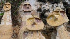 ANTEDILUVIANA: Difunden hallazgo de 35 sarcófagos de la cultura Chachapoyas