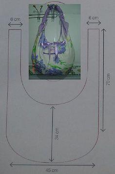 Molde utilizado pra fazer a bolsa mini rosas, cupcake rosa, cupcake verde,aranha azul,dentre outras!