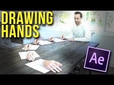 Learn How to Create a Surreal Drawing Hands Scene | After Effects CC 2017 Tutorial - YouTube