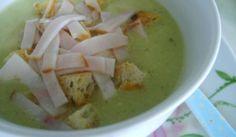 Brokolicovo-karfiolová polievka s nivou