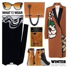 """""""What To Wear"""" by the-reluctant-dragon ❤ liked on Polyvore featuring By Malene Birger, Emilio Pucci, MM6 Maison Margiela, Florian London and Oliver Peoples"""