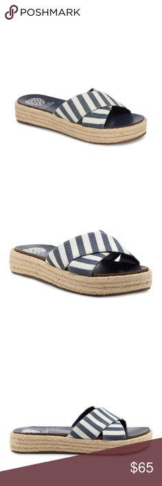 9b7235e492c Vince Camuto – Carran Platform Sandal Blue Vince Camuto – Carran Platform  Sandal Add an earthy