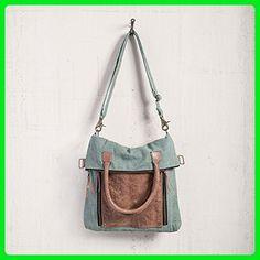 Mona B Fold Over Convertible Tote Bag M-3706 - Top handle bags (*Amazon Partner-Link)