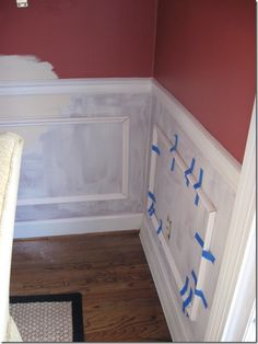 DIY picture frame molding @Ann Flanigan Strong