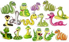 20 Snake Illustrations (Vector & PNG Free Download) for CNY 2013
