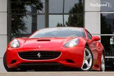 Ferrari California red #6