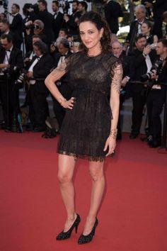 Asia Argento en robe en dentelle noire Cannes, Asia Argento, Lingerie, Formal Dresses, Fashion, Asia, Dresses For Formal, Moda, Formal Gowns