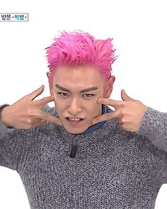 TOP on Weekly Idol <3