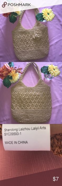 One of my favorite made of 100% paper bag This is so light and in perfection Length-11 Height-11 Bags Shoulder Bags