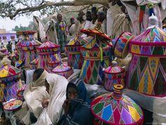 Ethiopian Mesob + Market