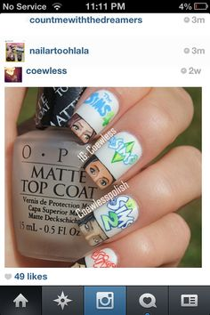 OMG! I want these nails!!!!!!!!!!!!!!! I love sims