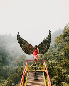 From @roes.syf  Loc : Coban Talun Kota Batu Bali Travel, Travel Tours, Cool Pictures, Beautiful Pictures, Tree Tent, Spice Garden, Bamboo Structure, Forest Cabin, Farm Stay