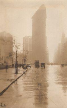 Jessie Tarbox Beals, Fifth Avenue, c.1905 Photographs siver print