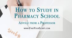 Are you a pharmacy student? Want advice on how to study in pharmacy school and effective study strategies from a School of Pharmacy Professor? Read on here. Pharmacy Student, Pharmacy School, Pharmacy Humor, Pharmacy Technician, Pharmacy Assistant, Study Smarter Not Harder, Becoming A Pharmacist, Residency Medical, Residency Programs