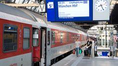 Bequemim DB CityNightLine von Amsterdam nach München (RIP)