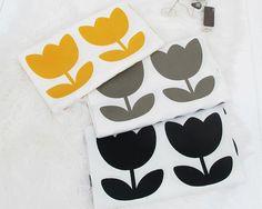 "Scandinavian Nordic Style Big Tulip Pattern Cotton Fabric  -20s 100% Cotton  -1 Yard Width & Length: 43""X 35"" (110cm X 90cm)  -Please see the last"