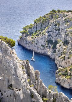 Blue Inlet, Marseille, France,calanques