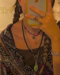 Goth Hippie, Hippie Vibes, Estilo Indie, Estilo Hippy, Hippie Jewelry, Cute Jewelry, Jewlery, Funky Jewelry, Yoga Jewelry