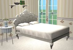 TheNinthWaveSims: The Sims 2 - Showtime Regency Bed for The Sims 2