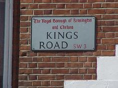 Kings Road, London - Spent a summer with an SW3 address... loved every minute of it