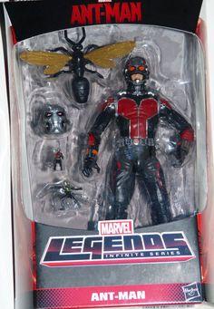 ToyzMag.com » Marvel Legends : Review Ant-Man (Ultron BAF)