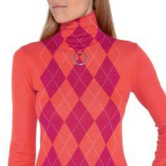 Pink Turtleneck Sweater - STELLA MCCARTNEY