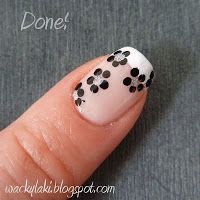 Wacky Laki: Tutorial: Dotted French