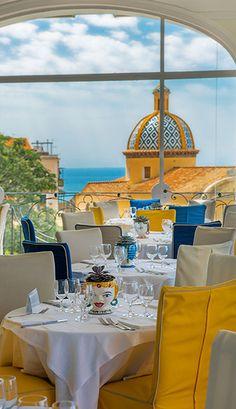 Tramonto d'Oro Restaurant - Praiano restaurant on the sea of Amalfi Coast