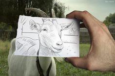 Ben Heine, Pencil vs. Camera series, 5.