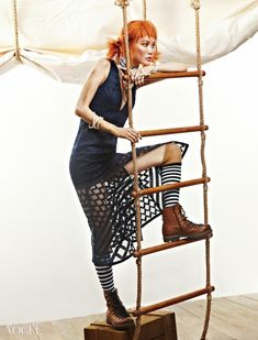"""Pippi Longstocking"" Vogue Korea 2015"