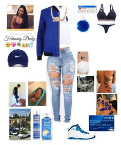 """Ti Amo: ""Baby Baby Baby"""" by goldsouls ❤ liked on Polyvore featuring Tommy Hilfiger, Polo Ralph Lauren, River Island, NIKE, Charlotte Russe and Nike Golf"