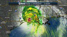 Live Coverage: Laura Makes Landfall as Ferocious Category 4 Hurricane – NBC 5 Dallas-Fort Worth Hurricane Rita, Texas Weather, Category 4, Rain Fly, Port Arthur, Storm Surge, Lake Charles, After The Storm