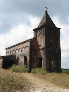 Abandoned Catholic Church, Station Climatique du Bokor, Dâmrei Mountains By Pigalle