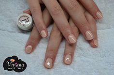Nude | Bio Sculpture Gel Glam Nails, Nude Nails, My Nails, Overlay Nails, Bio Sculpture Gel Nails, Sculpture Ideas, Cute Nail Designs, Nudes, How To Do Nails