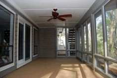 Screened in room under watertight deck, Another screened room below above screened room?