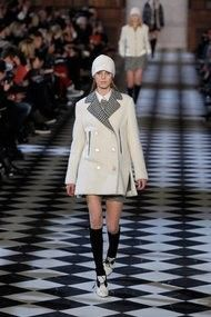 "(coat)  c/o NY Times: ""Prep With an Edge From Tommy Hilfiger"" #tommyfall13 #nyfw #womenswear"
