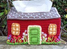 Shells Tissue Box Cover Vanna Crochet Pattern//Instructions Leaflet NEW