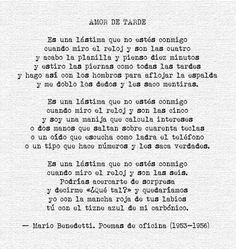 "Twitter / davalladolid: ""Amor de tarde"" #Benedetti ..."
